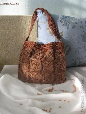 Очень волнуюсь, моя первая сумочка. фото 5