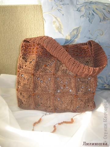 Очень волнуюсь, моя первая сумочка. фото 4