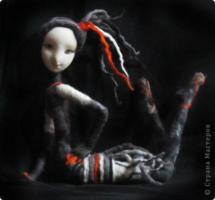 """Авторская текстильная кукла """"Вертихвостка"""" фото 1"""
