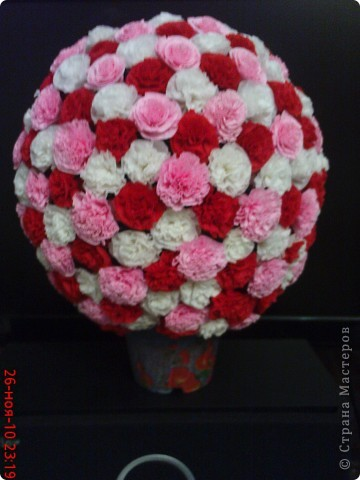 цветочный шарик по мк Vitulichka
