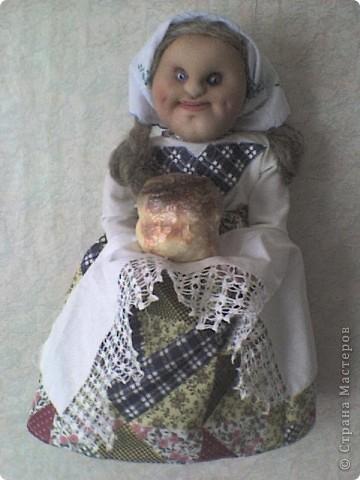 Еще одна кукла-пакетница. Зовут ее Марфа фото 1