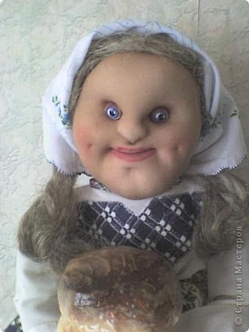 Еще одна кукла-пакетница. Зовут ее Марфа фото 3