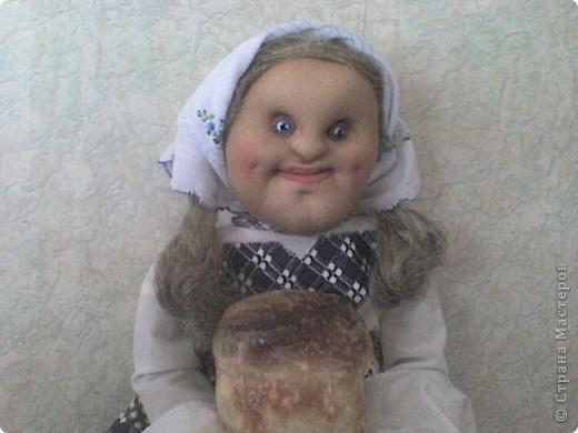 Еще одна кукла-пакетница. Зовут ее Марфа фото 2