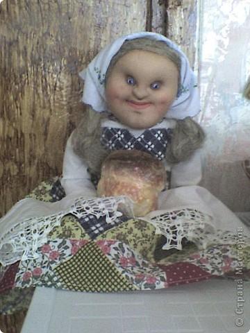 Еще одна кукла-пакетница. Зовут ее Марфа фото 4