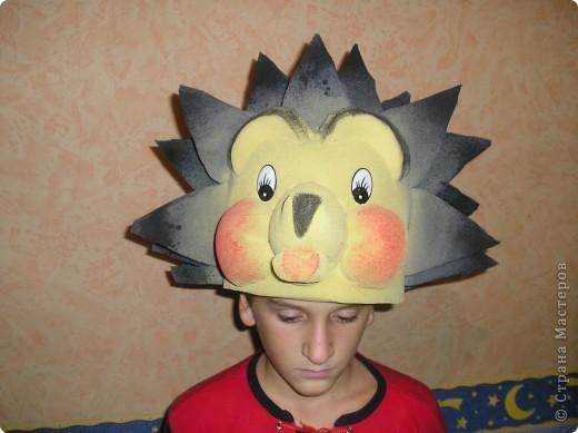 Маски Моделирование конструирование маски из поролона- продолжение Поролон фото 4