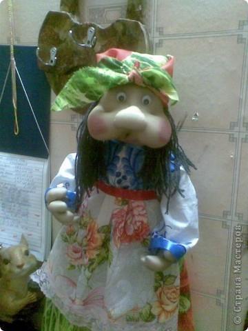 Пакетница Степанида или просто Стёпушка. фото 1