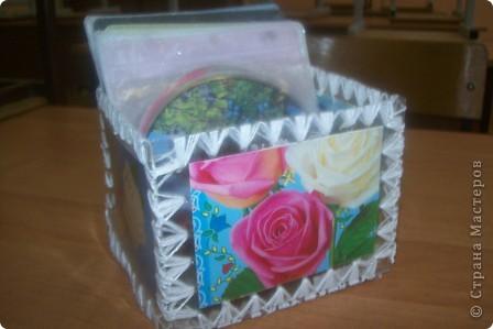 шкатулка для дисков фото 2