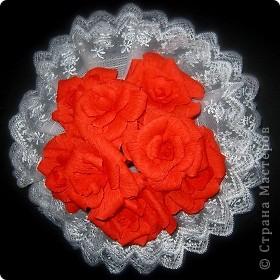Алые розы фото 1
