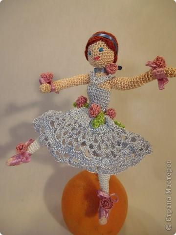 куколка - балерина 16см. фото 1