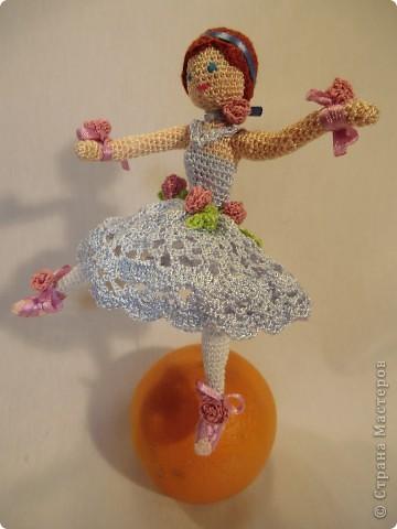 куколка - балерина 16см. фото 5