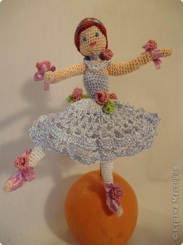куколка - балерина 16см. фото 4