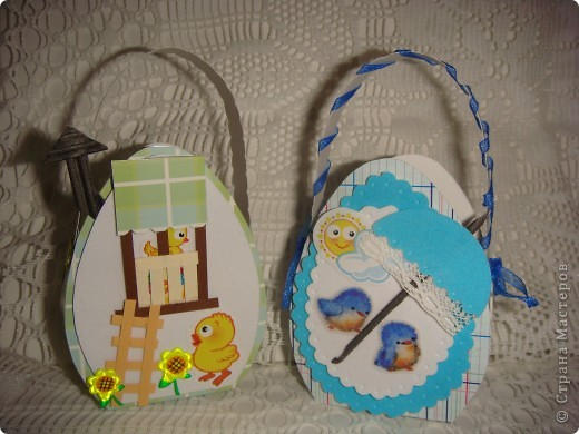 Эти подарочные сумочки для гостинцев. Мама рассказывала. что все самое вкусненькое дети получали на Пасху, а также какую-нибудь обновку (не смотря на то, что жили в СССР!). фото 2