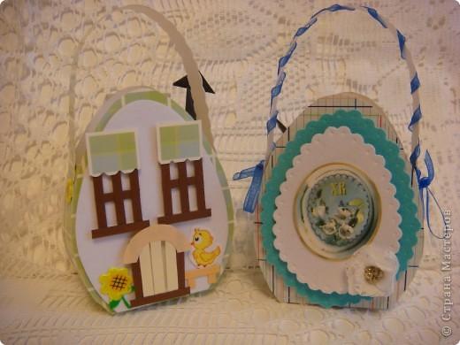Эти подарочные сумочки для гостинцев. Мама рассказывала. что все самое вкусненькое дети получали на Пасху, а также какую-нибудь обновку (не смотря на то, что жили в СССР!). фото 3