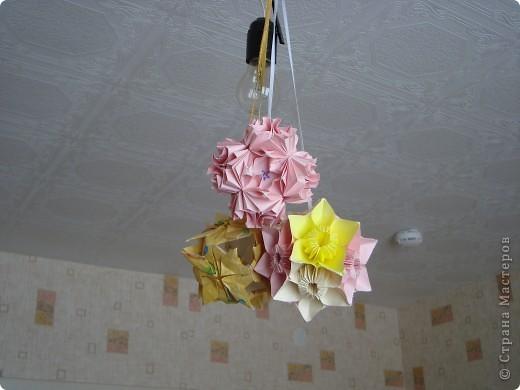 Кусудама цветочная. фото 3
