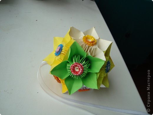 Кусудама цветочная. фото 1
