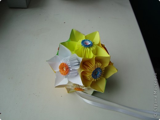 Кусудама цветочная. фото 2