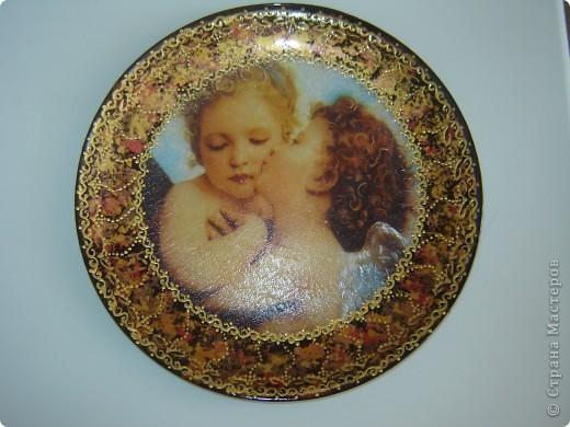 Опять ангелы и не только, тарелочки фото 1