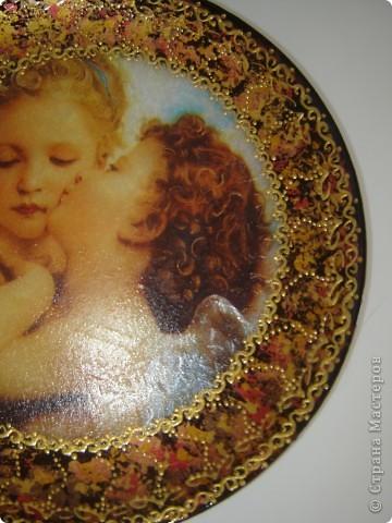 Опять ангелы и не только, тарелочки фото 2