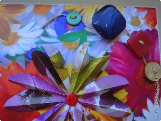 Легкая коробочка для моих цветочков.теперь им есть где жить)) фото 2