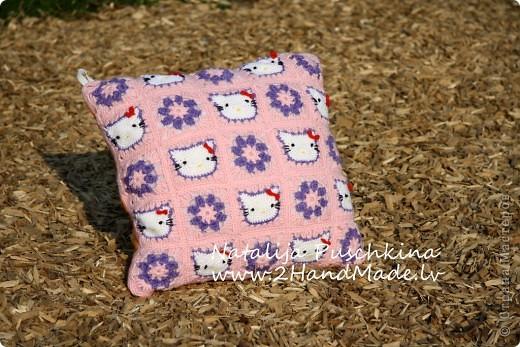 Детская подушка Hello Kitty