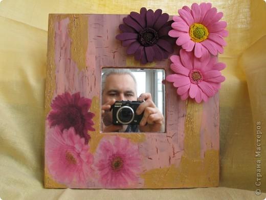 гипсовые миниатюры, букетик и зеркало. фото 4
