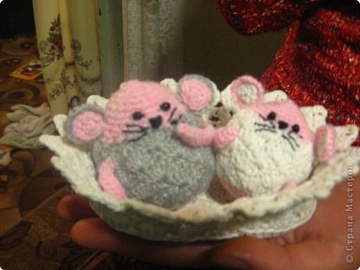 Мои вязаные мышки фото 1