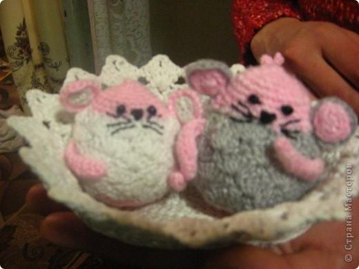 Мои вязаные мышки фото 2