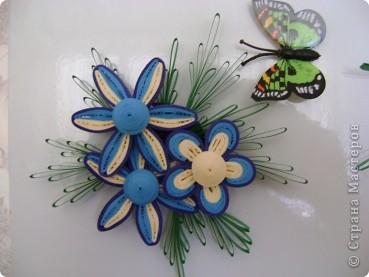 Мои магнитики на холодильник - это маленькие миниатюрки-повторюшки. Где что красивое увижу в Стране - стараюсь повторить в миниатюрках. В этих работах я уже использовала корейскую бумагу. фото 2