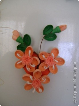 Мои магнитики на холодильник - это маленькие миниатюрки-повторюшки. Где что красивое увижу в Стране - стараюсь повторить в миниатюрках. В этих работах я уже использовала корейскую бумагу. фото 8