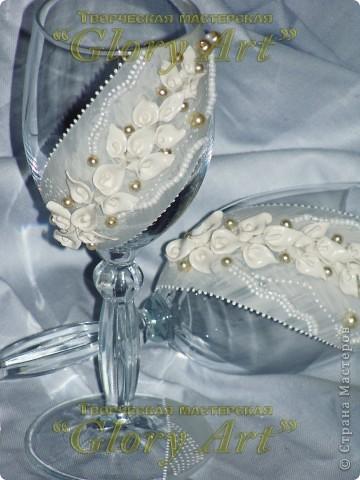А вот декорирование в белом цвете. И маленькие каллы. фото 2