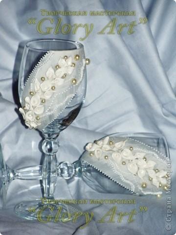 А вот декорирование в белом цвете. И маленькие каллы. фото 1