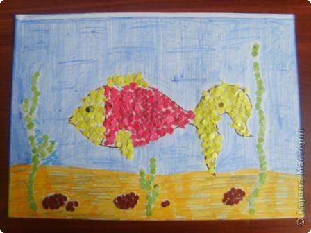 Рыбка. Смастерил племяшка. фото 1