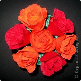 Алые розы фото 4