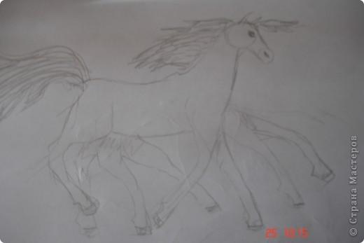 Это Слейпнир,восьминогий конь верховного бога викингов Одина. фото 1