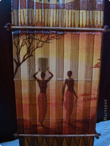 В дополнение к ранее сделанным панно, появилась вазочка. фото 10