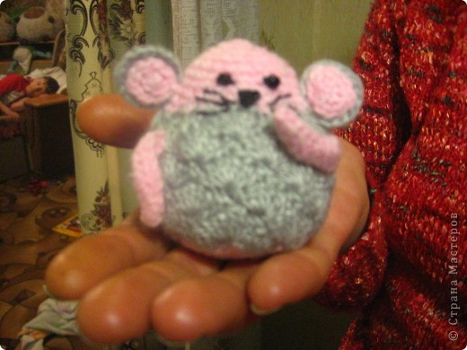 Мои вязаные мышки фото 3