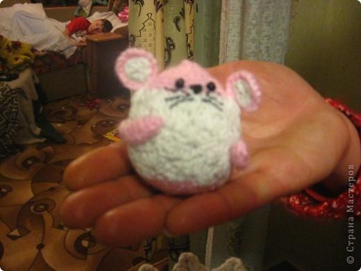 Мои вязаные мышки фото 4