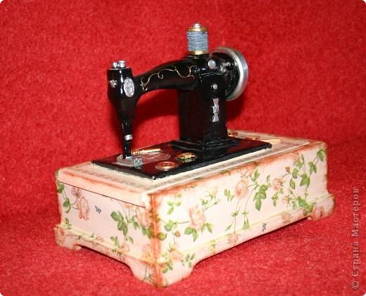 Шкатулочка для швеи. фото 2