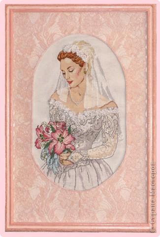 """СЕРИЯ """"Элегантная  Виктория"""" вышивка на равномерном канве окрашена в ручную, с использованием бисера, лент и металлических нитей. фото 6"""