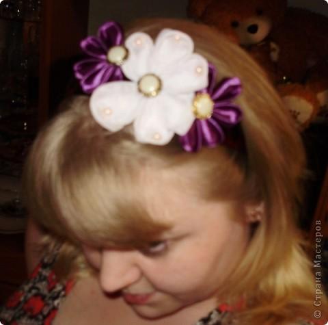 воть такие милые цветочки теперь поселились у меня на голове фото 1