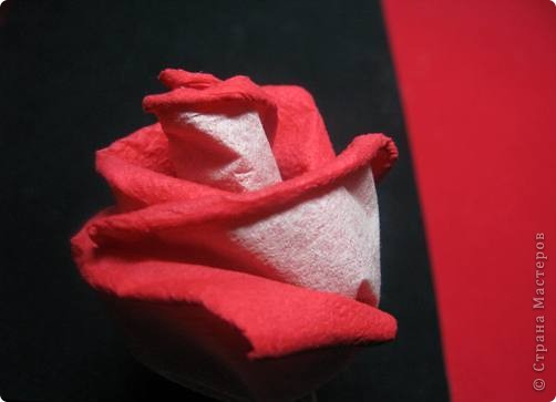 """После размещения своего мастер класса """"Розы из бумажных салфеток"""", я получила множество откликов и увидела  фото работ, выполненных по этому мастер классу. Очень приятно, что мои розы заинтересовали жительниц Страны мастеров. Это фото из МК  http://stranamasterov.ru/node/162472  . фото 18"""