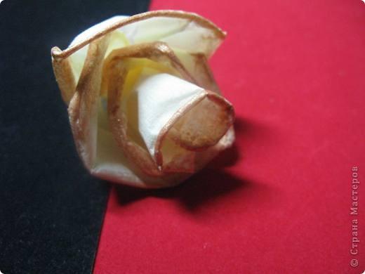 """После размещения своего мастер класса """"Розы из бумажных салфеток"""", я получила множество откликов и увидела  фото работ, выполненных по этому мастер классу. Очень приятно, что мои розы заинтересовали жительниц Страны мастеров. Это фото из МК  http://stranamasterov.ru/node/162472  . фото 10"""