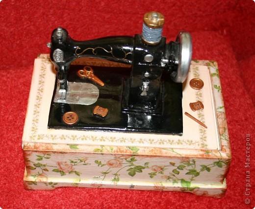 Шкатулочка для швеи. фото 1