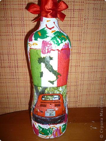 бутылка лицевая сторона. фото 2