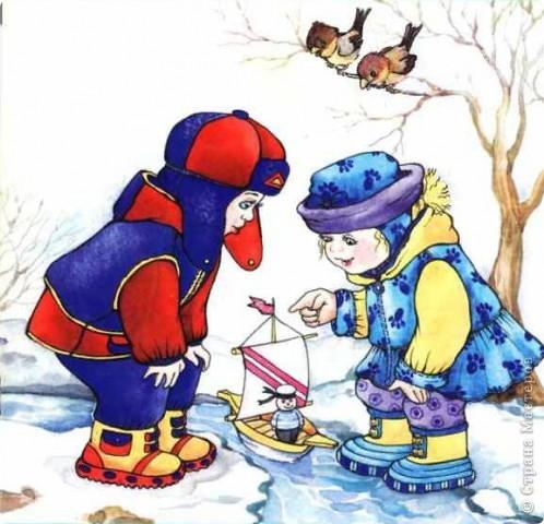 Время летит! На улице всё теплее и теплее! Снег тает, птички поют... Хорошо! Вот и вспомнилось мне по этому поводу одно из моих стихотворений.
