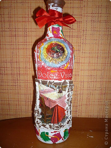 бутылка лицевая сторона. фото 1
