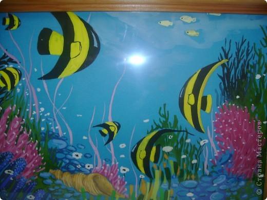 И живопись подводный мир гуашь фото 2