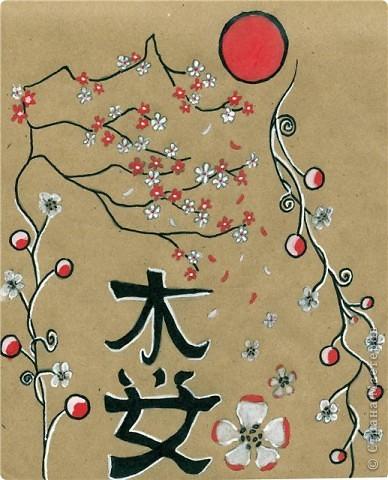 """Фото-панно """"Сакура цветет!Пришло весны очарование!"""" ...""""Печальна ли та Что восходящему солнцу во след Под сакурой нежно мечтает""""... Сакура (это вид вишни) прекрасна, многообразна и очень почитаема в Японии. Сделала небольшой МК (впервые) по изготовлению цветочков сакуры.Прошу прощения, если что не так. фото 28"""