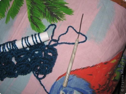 """Сегодня освоил (новую для меня) технику - Брумстик. Это перуанское вязание крючком. Название такое смешное!:)) Брумстик :) В ИНТЕРНЕТЕ МНОГО ФОТОК С ИЗДЕЛИЯМИ. Достаточно набрать """" брумстик """".  фото 9"""