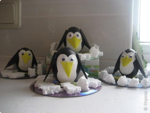 Пингвин поделки своими руками фото